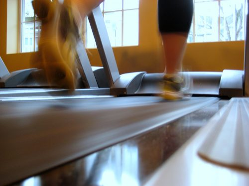 I trained primarily on a treadmill when I first started the Couch to 5K program