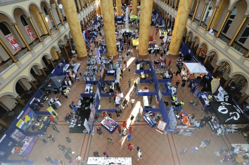 The National Building Museum is a beautiful location for our Expo!
