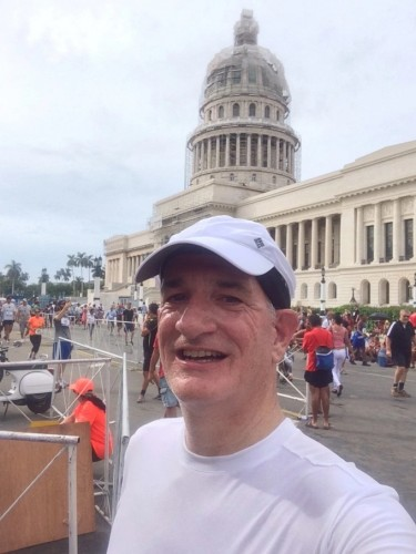 David after completing Havana Half Marathon in November 2015