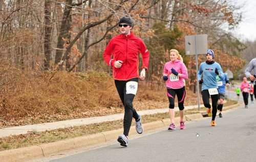 Rob ran another 10 mile spring race in 2014: the Reston 10-miler